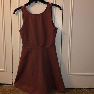 Backless forever 21 dress
